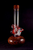 HVY Glass - Bubble Beaker (Red)